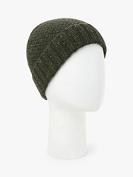 John Lewis And Partners Donegal Wool Hat Green