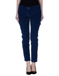 Incotex Red Casual Pants Blue