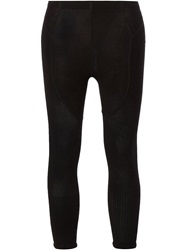 Rick Owens Cropped Leggings Black