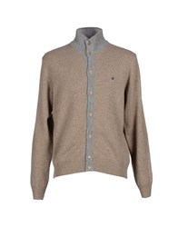 Brooksfield Knitwear Cardigans Men Sand