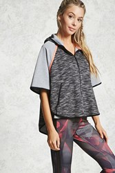 Forever 21 Active Do It Better Jacket Charcoal
