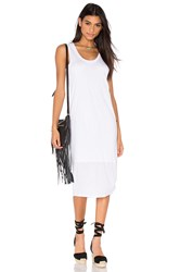 Nation Ltd. Merrill Tank Dress White