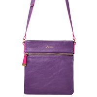 Joules Camden Across Body Bag Purple
