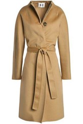 Carolina Herrera Wool Blend Coat Camel