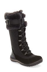 Jambu Women's 'Williamsburg' Waterproof Tall Boot Black Leather