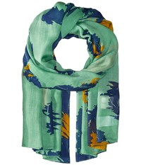 Liebeskind F1179510 Modal Scarf Orchid Green Leo Scarves