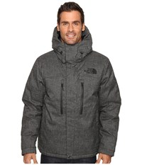 The North Face Himalayan Lifestyle Parka Tnf Black Tweed Men's Coat Gray
