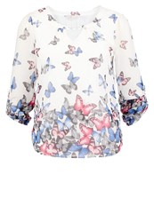 Dorothy Perkins Billie Blossom Butterfly Blouse Multicolor Multicoloured