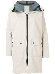 Ecoalf Niagara Raincoat Nude And Neutrals