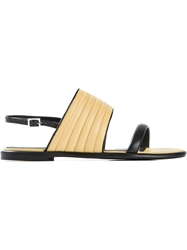 See By Chloe Padded Sandals Black