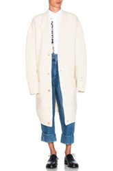 J.W.Anderson J.W. Anderson Laddered Detail Cardigan In Neutrals