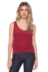 American Vintage Pierre Tank Top Red