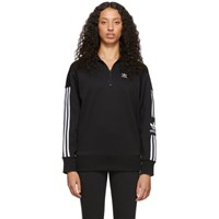Adidas Originals Black Half Zip Sweater