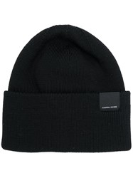 Canada Goose Fitted Beanie Black