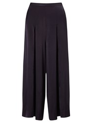Bruce By Bruce Oldfield Hammered Satin Culottes Navy