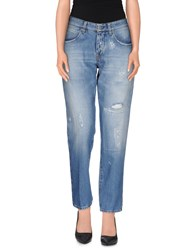 Two Women In The World Denim Denim Trousers Women Blue
