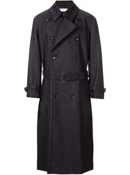En Route Belted Trench Coat Grey