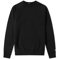 Sophnet. Elbow Patch Crew Sweat Black