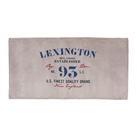 Lexington Velour Beach Towel 100X180cm Grey