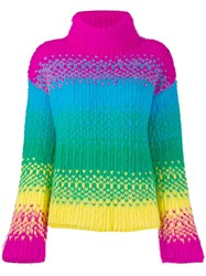 Dsquared2 Roll Neck Sweater Pink