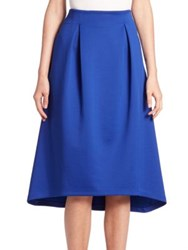 Armani Jeans High Low Solid Skirt