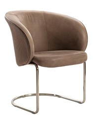 Visionnaire Carmen Steel Chair Brown