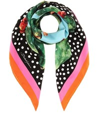 Dolce And Gabbana Exclusive To Mytheresa.Com Printed Silk Scarf Multicoloured