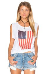 Nation Ltd. Old Glory Tank White