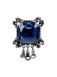 'S Max Mara Messico Crystal Brooch
