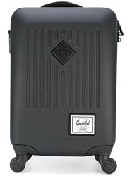 Herschel Supply Co. 'Trade Luggage' Carry On Suitcase Unisex Plastic Polyester One Size Black