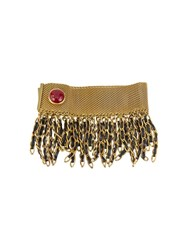 Chanel Vintage Fringed Bracelet Metallic