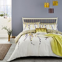 Clarissa Hulse Boston Ivy Duvet Cover Sulphur Super King