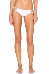 Indah Sasa Criss Cross Bottom White