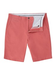 Linea Oakley Chino Shorts Washed Red