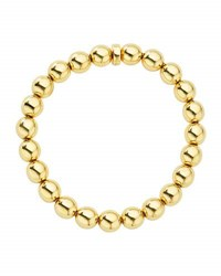 Lagos 8Mm Medium Caviar 18K Ball Stretch Bracelet