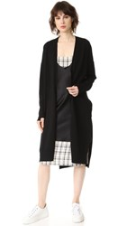 Dkny Long Sleeve Cardigan Black