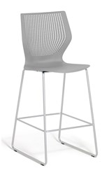 Knoll Multigeneration By Stool Bar Height Gray