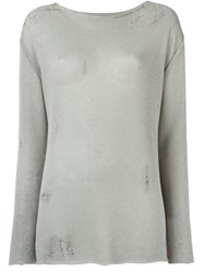 Enfants Riches Deprimes Crew Neck Sweater Grey