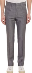 Rag And Bone Sharkskin Suiting Trousers Grey