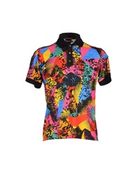 Jean Paul Gaultier Polo Shirts Fuchsia