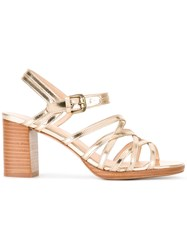 A.P.C. Strappy Sandals Metallic