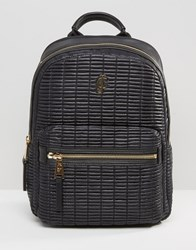 Juicy Couture Backpack In Black Pitch Black
