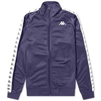 Kappa Taped Anniston Track Top Blue
