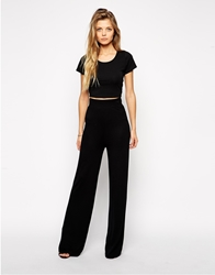 Asos Flare Wide Leg Trousers
