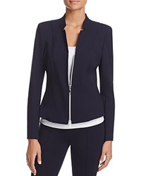 Basler Fitted Notched Blazer Navy