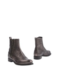 Manufacture D'essai Ankle Boots Steel Grey