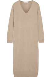 Tomas Maier Cashmere Sweater Dress Sand