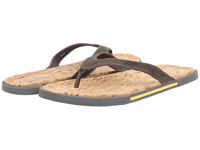 Ugg Bennison Ii Cork Metal Nubuck Men's Sandals Gray