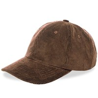 Norse Projects Wide Wale Cord Cap Brown