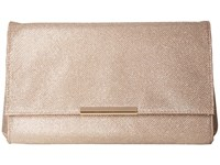 Jessica Mcclintock Nora Lurex Clutch Dusty Rose Clutch Handbags Pink